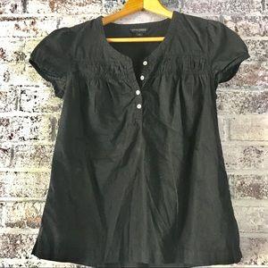 Banana republic 100%cotton cap sleeve, blouse